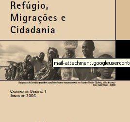 Caderno de Debates 01 – Refúgio, Migrações e Cidadania