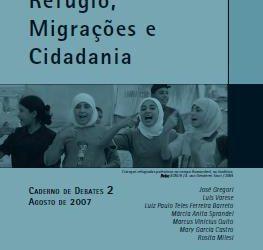 Caderno de Debates 02 – Refúgio, Migrações e Cidadania