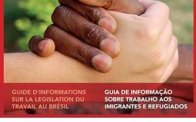 Guia de informação sobre trabalho aos imigrantes e refugiados – Francês/Português