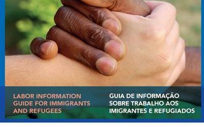 Guia de informação sobre trabalho aos imigrantes e refugiados – Inglês/Português