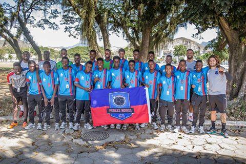 Equipe haitiana disputa principal competição de juniores do futebol brasileiro pela segunda vez em 2017