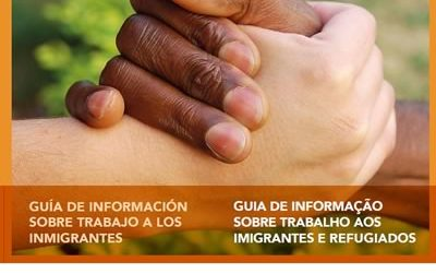 Guia de informação sobre trabalho aos imigrantes e refugiados Espanhol/Português