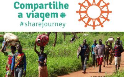 """Campanha Mundial """"Compartilhe a viagem"""""""