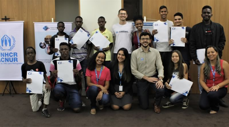Unidos pela busca de uma vida melhor, jovens refugiados participam de Oficinas de Empregabilidade