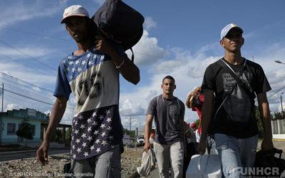 (GEO)Políticas Migratorias, inserción laboral y xenofobia : Migrantes venezolanos en ecuador