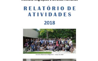 Relatório de Atividades IMDH – 2018