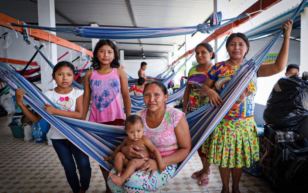 Realocação de indígenas Warao para espaços seguros tem continuidade em Manaus