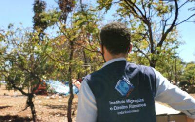 IMDH presta ajuda a migrantes venezuelanos da etnia warao que estão em Brasília