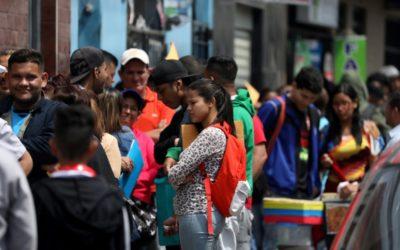 Jovens venezuelanos deixam seu país em busca de um futuro melhor no exterior