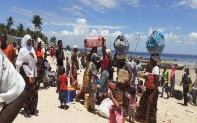 O drama dos deslocados pela guerra em Cabo Delgado