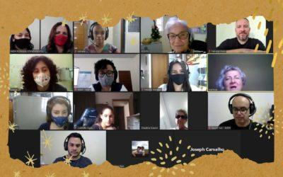 Equipe de colaboradores do IMDH realiza momento de reflexão ao final do ano