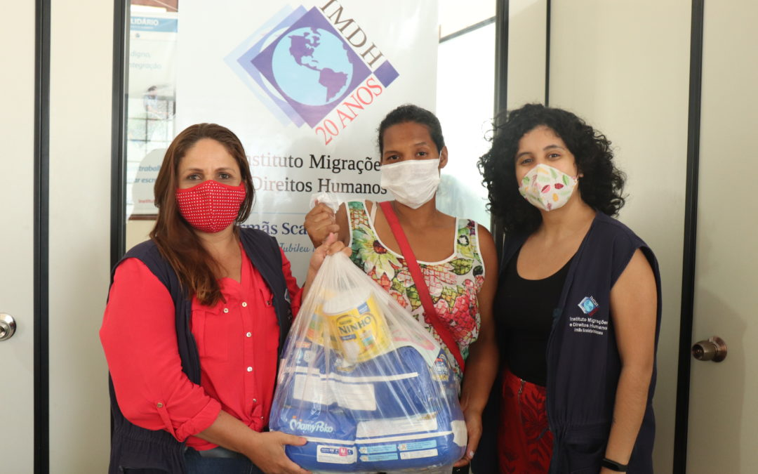 IMDH Solidário ajuda mulheres migrantes em Boa Vista (RR)