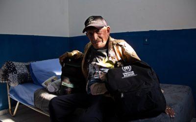 Inédita interiorização de idosos venezuelanos é realizada com apoio do ACNUR
