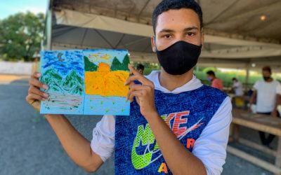 OIM realiza atividades de apoio à saúde mental para refugiados e migrantes em Boa Vista