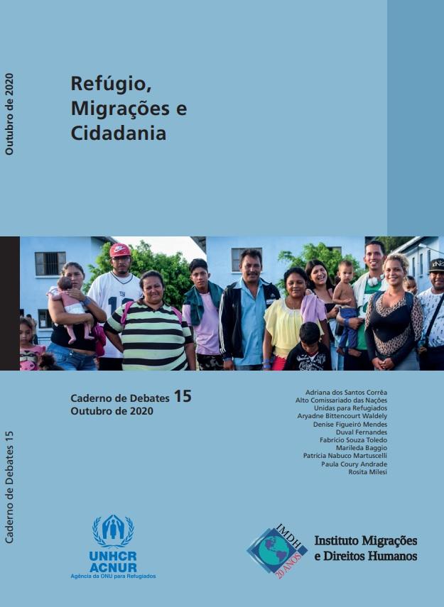 Caderno de Debates 15 – Refúgio, Migrações e Cidadania