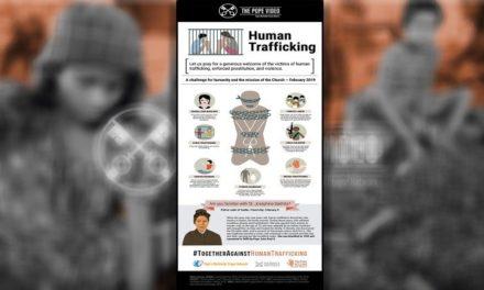 Dia de Oração Contra o Tráfico terá mensagem do Papa