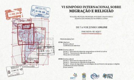Inscrições abertas para VI Simpósio Internacional sobre Migração e Religião