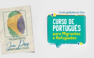 OIM e UniCesumar oferecem curso de português online e gratuito para migrantes e refugiados no Brasil