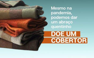 Campanha busca doações de cobertores para amenizar o frio dos mais necessitados