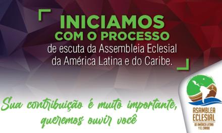 Etapa de escuta da Assembleia Eclesial da América e do Caribe é prolongada até 30 de agosto