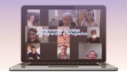 Encontro online com migrantes e refugiados abre espaço para esclarecer dúvidas