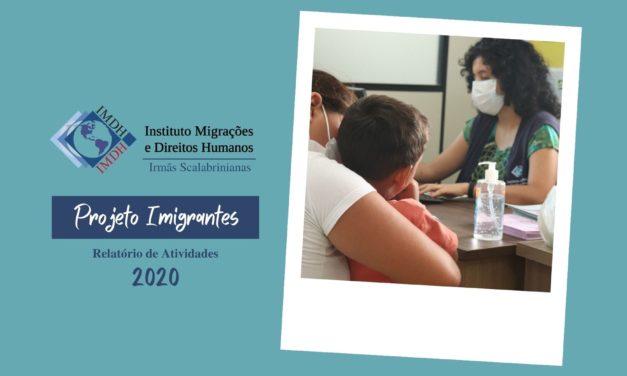 Projeto Imigrantes: perfil dos atendimentos no IMDH em 2020