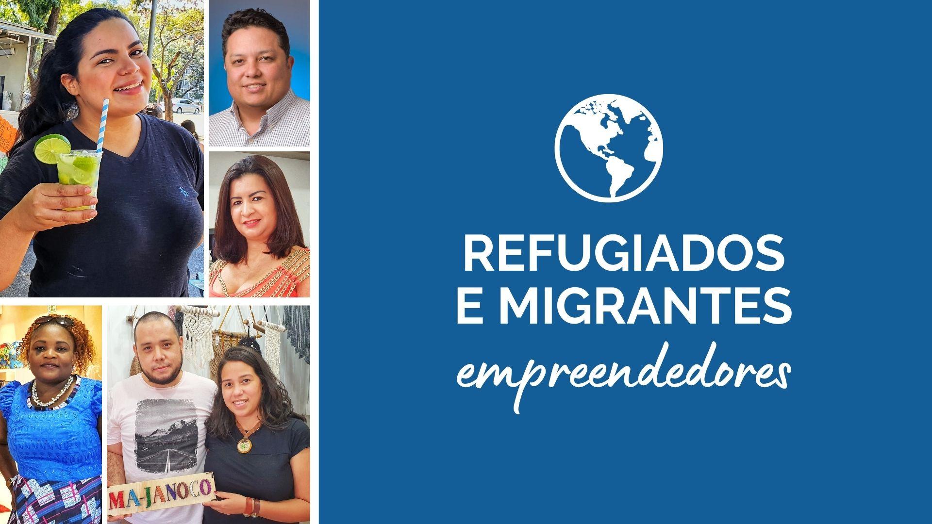"""Semana do Migrante: IMDH apresenta campanha """"Refugiados e Migrantes empreendedores"""""""