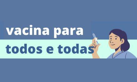 Venezuelanos organizam folder com orientações sobre a vacinação contra a Covid-19 no DF