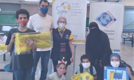Voluntariado amplia a ação junto aos migrantes e refugiados