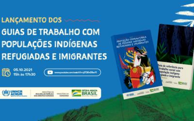 Cartilhas promovem proteção adequada à cultura de refugiados e migrantes indígenas da Venezuela no Brasil